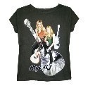 Aly & AJ Foiled Guitar Jr Tee Thumbnail