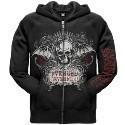 Avenged Sevenfold Ornate ZipHoodie Thumbnail