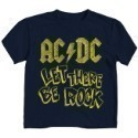 AC/DC Let There Be Rock Toddler T-shirt Navy  Thumbnail