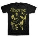 The Doors Live Neon Yellow T-shirt Thumbnail