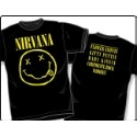 Nirvana Corporate Rock Whores T-shirt Thumbnail