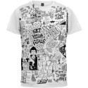 Set Your Goals Doodle Slim Fit T-shirt Thumbnail