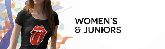 Band-tees.com Women's & Junior's Category