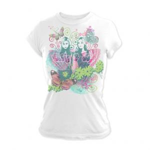 Aly & AJ Full Butterfly Jr Tee