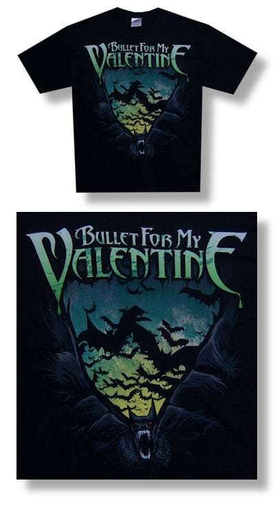 Bullet For My Valentine Bats T-shirt - Youth L