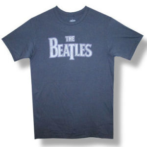 The Beatles Vintage Purple Outline T-shirt
