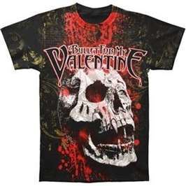 BFMV Blood Skull Mens T-Shirt