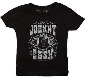 Johnny Cash Hello Toddler T-Shirt
