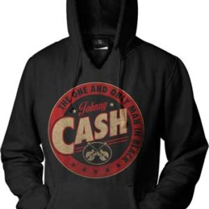 Johnny Cash The One and Only Hoodie