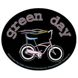 Green Day Bike Sticker