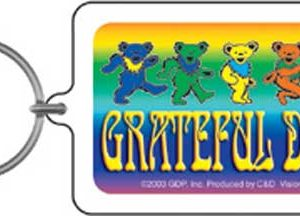 Grateful Dead Bears Keychain