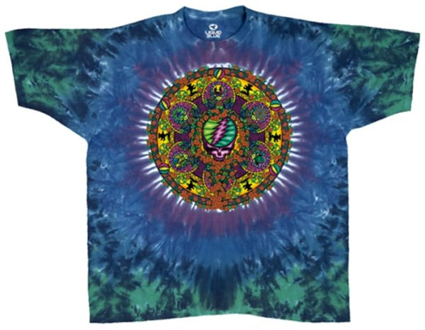 Grateful Dead Celtic Mandala Tie-Dye T-shirt