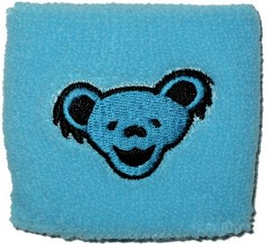 Grateful Dead Bear Wrist Band - OSFA