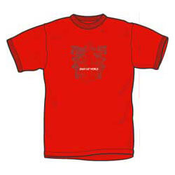 Jimmy Eat World Arms Red T-shirt - XL