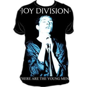 Joy Division Here Are Young Fitted T-shirt