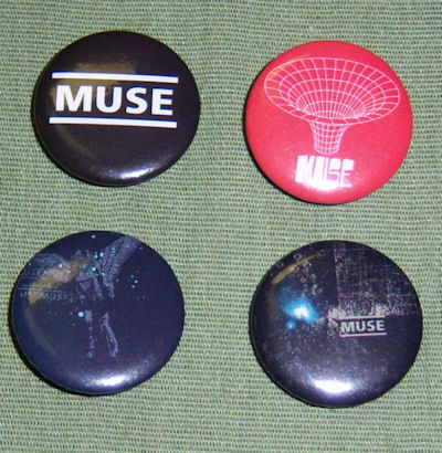 Muse Button Pack - S