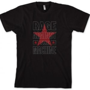 RATM Stacked Star Slim Fit T-shirt