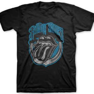 Rolling Stones Blue Light Tongue T-shirt