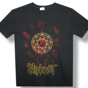 Slipknot Golden Outline T-shirt