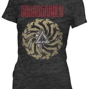 Soundgarden Motor Finger Burnout Jr T-shirt