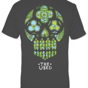 The Used Stained Glass Skull T-shirt