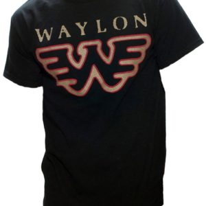 Waylon Jennings Wings T-shirt 3XL - 3XL