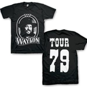 Waylon Jennings '79 Tour T-shirt