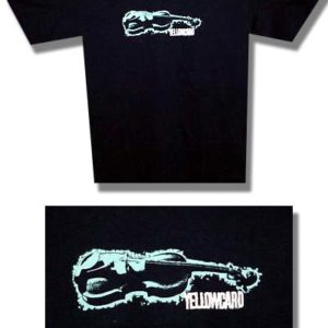 Yellowcard Violin T-shirt