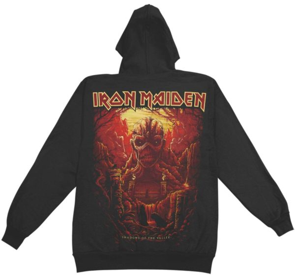 Iron Maiden Shadows of the Valley Hoodie